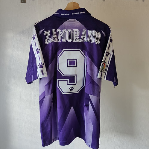 Real Madrid 96/97 Away - Zamorano - Size L