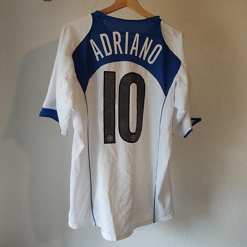 Inter 04/05 Away - Adriano 9 - Size L