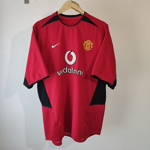 Manchester United 02-04 Home - Size XL
