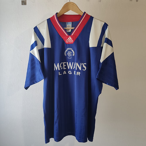 Rangers 92-94 Home - Size XL