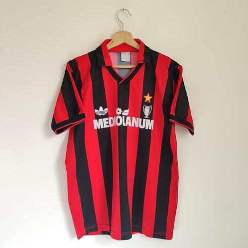AC Milan 90-92 Home - Size XL (Fits L)