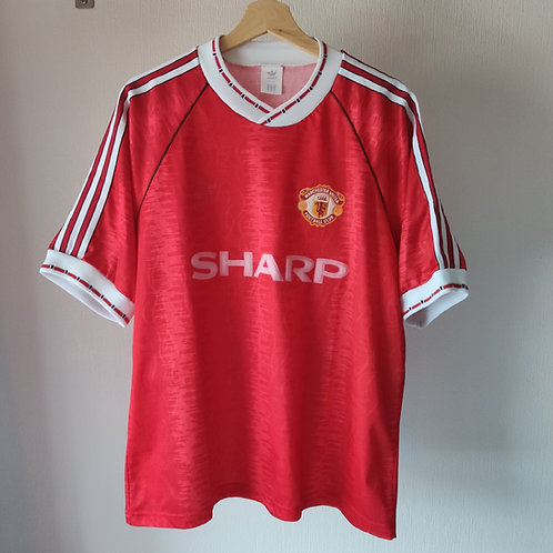 Manchester United 90-92 Home - Size 44-46