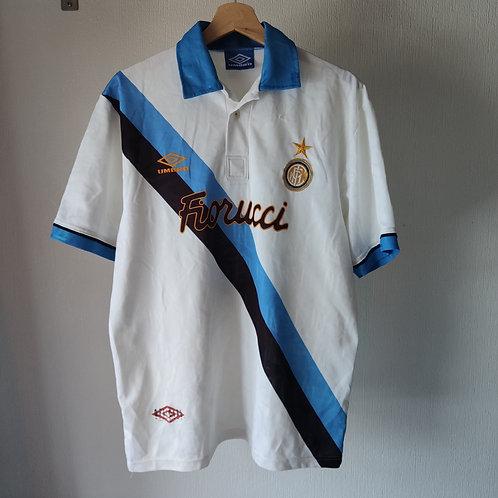 Inter Milan 93/94 Away- Size L