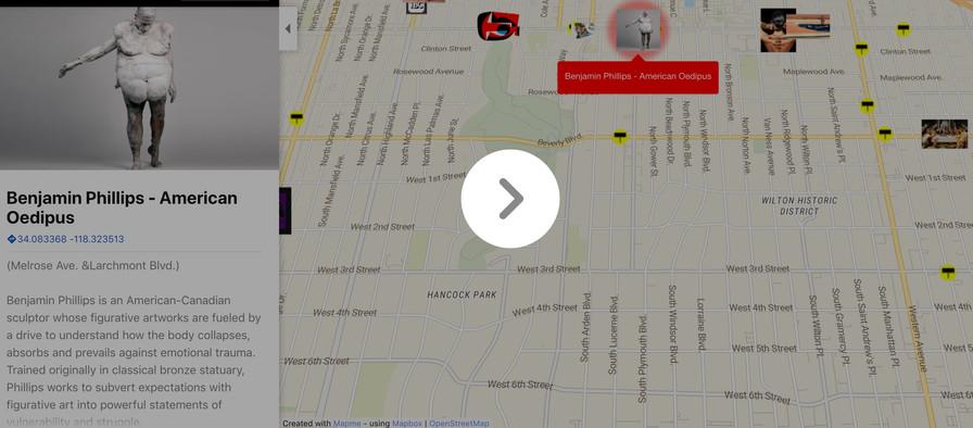 2020 Billboard Creative map screen grab.