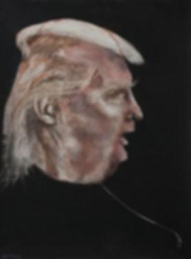 air balloon of donald trump's head