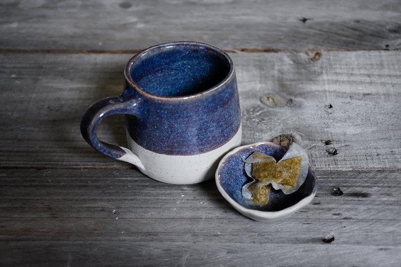 Cosmos Mug and Trinket Dish Set
