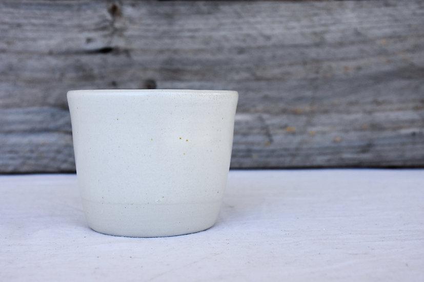 Satin White Latte Cup