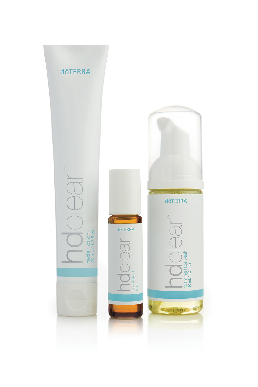 doTERRA HD Clear Skincare Range