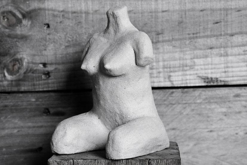 Raku Figure #1