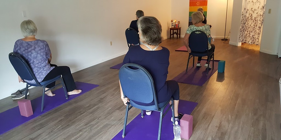 Chair Yoga with Marianne Wyer