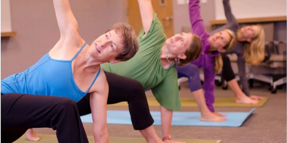 Slow Yoga Stretch - 4 week session