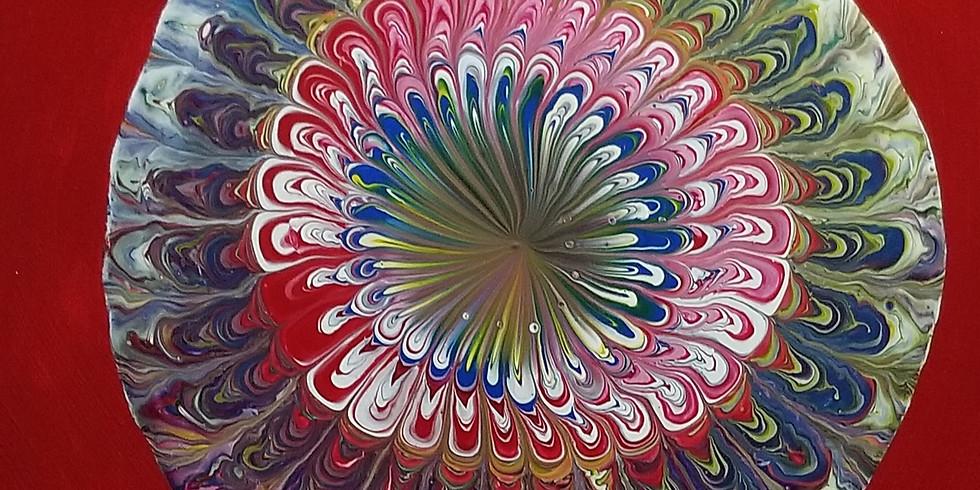 Mandala Paint Pour Class