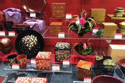 Japanese lacquer table ware