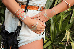 """Tattoo sticker - """"Jewel tattoos"""""""