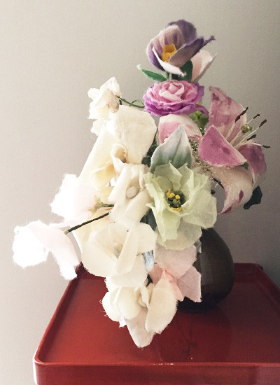 wedding bouquet made by Washi paper