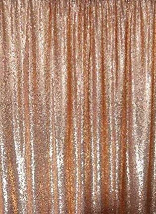 Rose Gold / Blush Sequin Backdrop