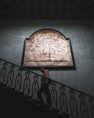 Ringhiera delle scale