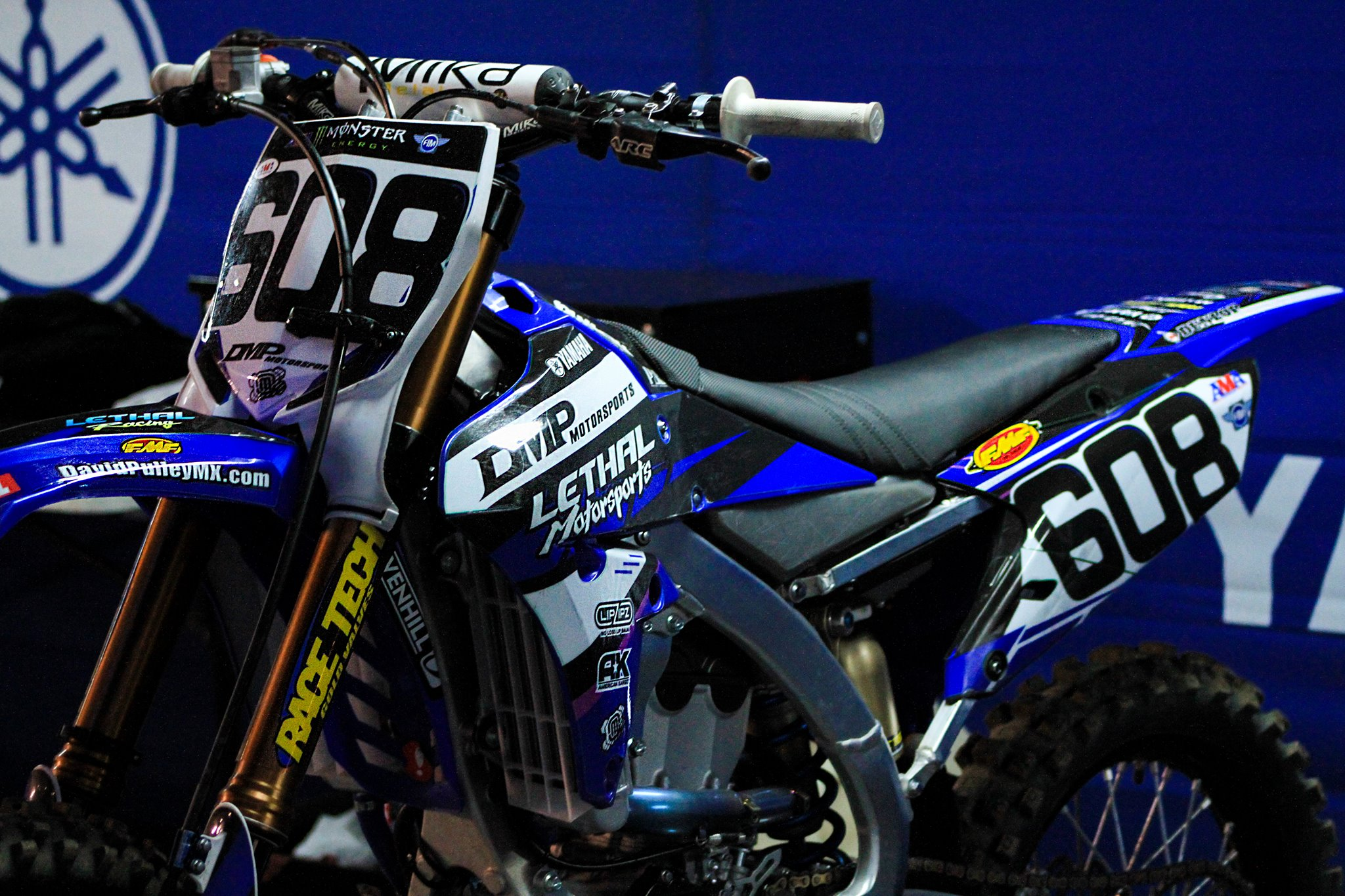 David Pulley Jr Yamaha YZ450F