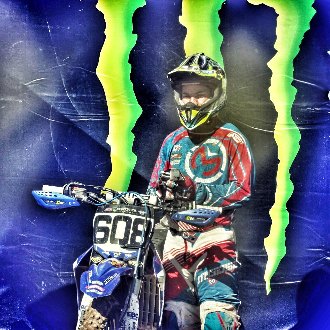 David Pulley Jr Monster Energy MXGP