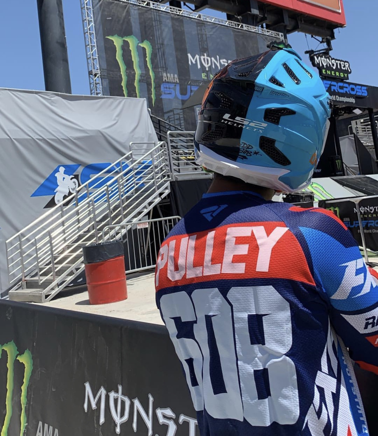 David Pulley Jr Las Vegas Supercross