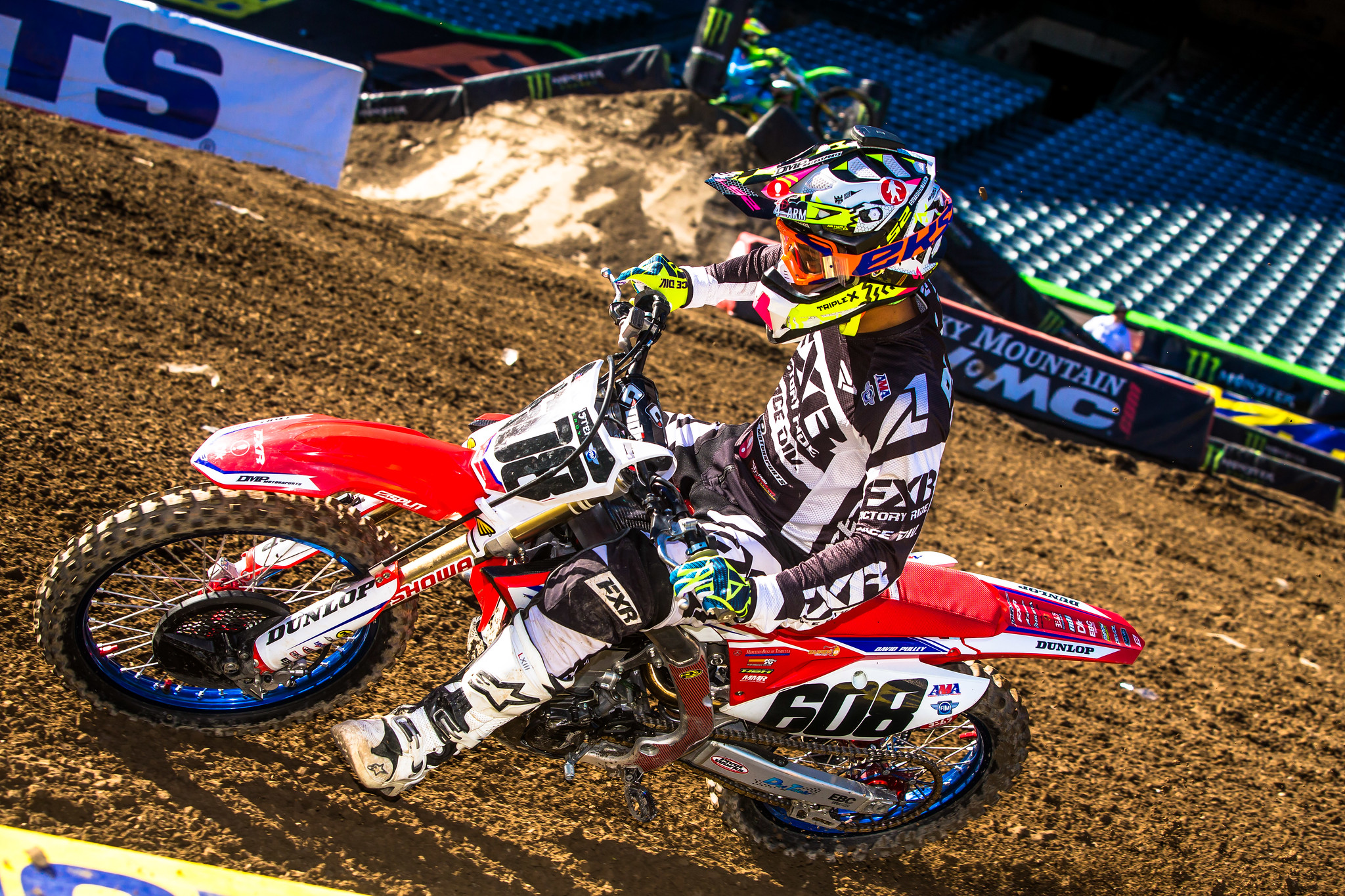 David Pulley Jr Supercross Anaheim