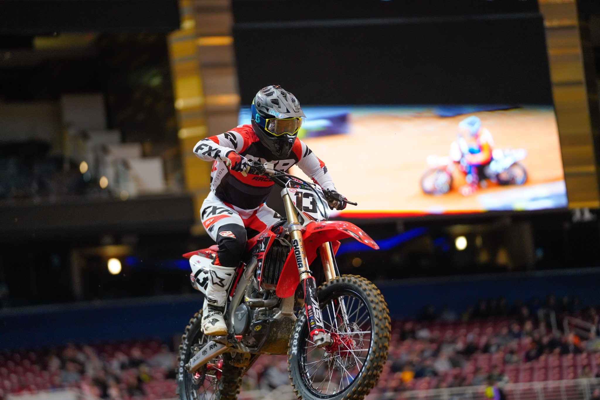 David Pulley Jr 138 Supercross