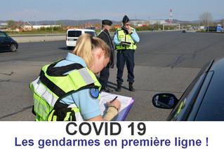 Les gendarmes en première ligne !