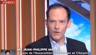 Maitre Jean-Philippe Morel parle aux gendarmes de APNM Gendarmes et Citoyens