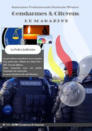 Le mag' APNM Gendarmes et Citoyens - N°113