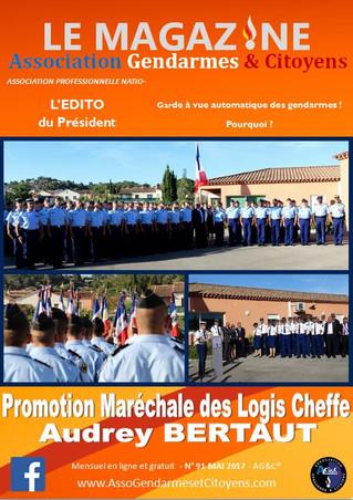 Magazine mensuel MAI