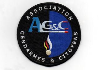 """Écusson AG&C """"renouvellement du stock"""""""