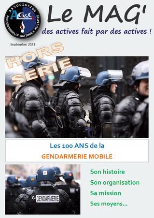 Le Mag' : Les 100 ANS de la GENDARMERIE MOBILE