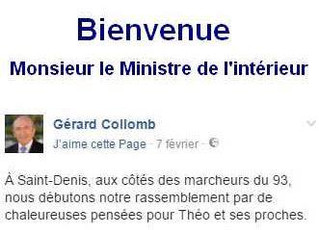 Le nouveau ministre de l'Intérieur veut « réconcilier la police et les Français ».