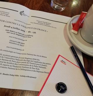 Colloque sur les violences en France. Le Sénat invite l'APNM Gendarmes et Citoyens