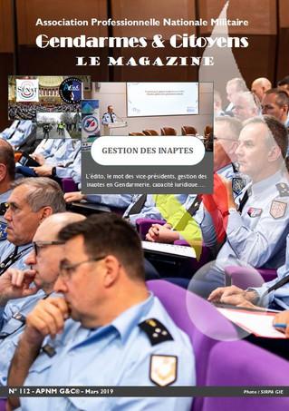 Le mag' APNM Gendarmes et Citoyens - N°112