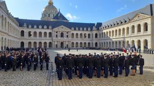 AG&C rend hommage aux gendarmes morts en service
