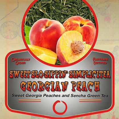 SimpliciTea: Georgian Peach Tea Tin