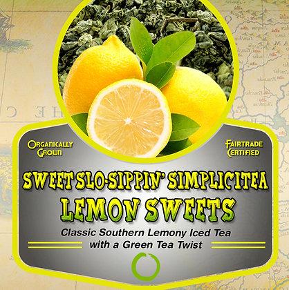 SimpliciTea: Lemon Sweets (green) Tea Tin
