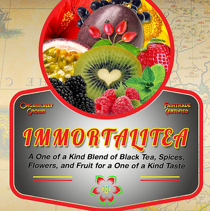 ImmortaliTea Tea Tin