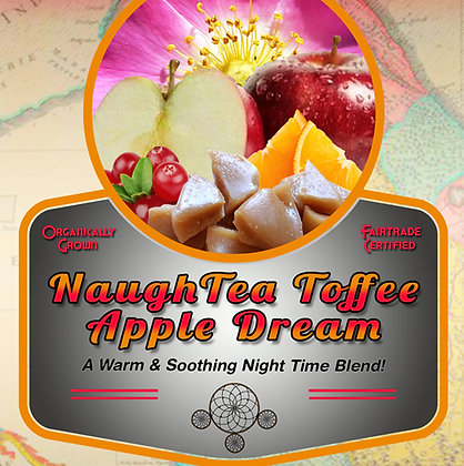 NaughTea Toffee Apple Dream Tea Tin
