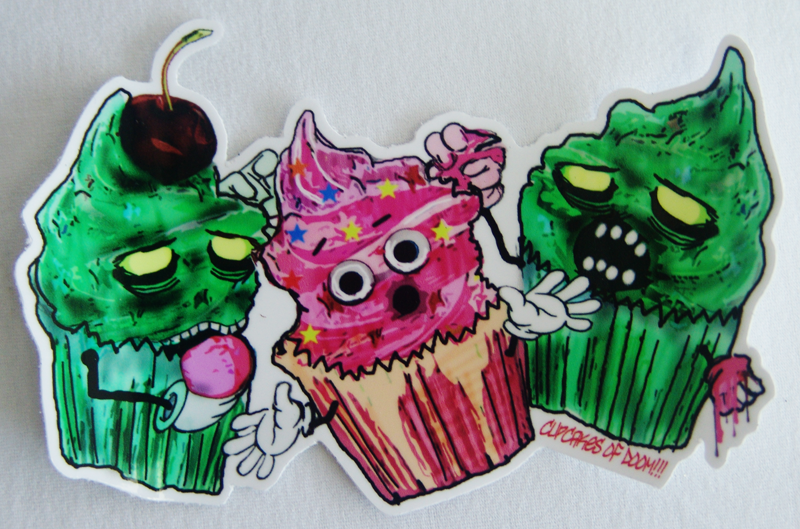 ZombiCakes Sticker