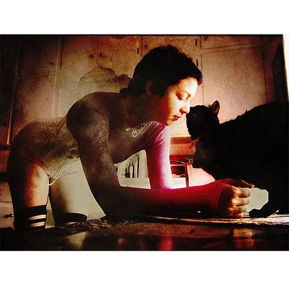 Eliza & Her Cat