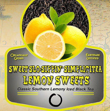 SimpliciTea: Lemon Sweets (black) Tea Tin