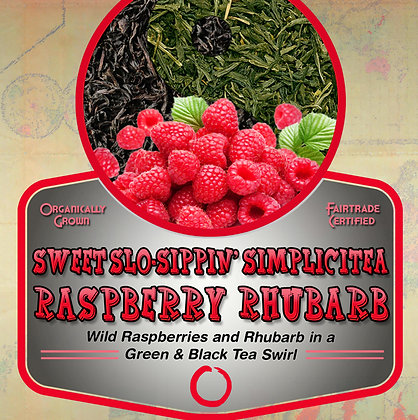 SimpliciTea: Raspberry Rhubarb Tea Tin