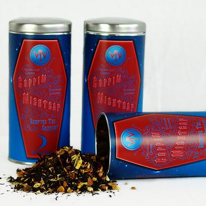 Coffin Nightcap Tea Tin