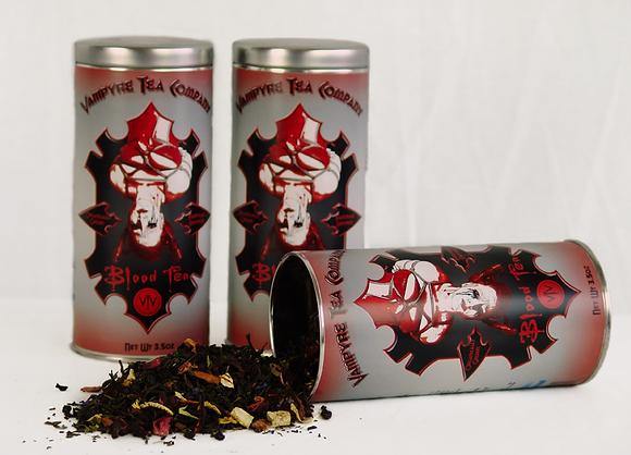 Blood Tea Tea Tin