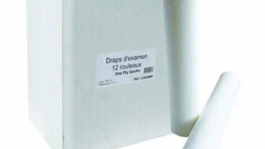 DRAPS D'EXAMEN 1 PLI GAUFRÉ - 135 FORMATS 50X35CM