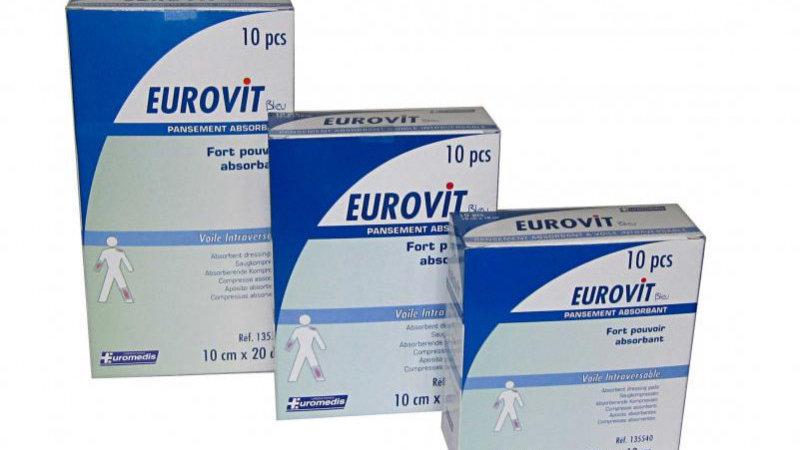 Pansement Eurovit Bleu