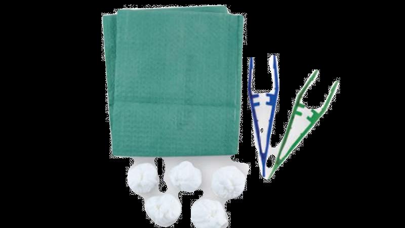 Set pour pansement Stérile