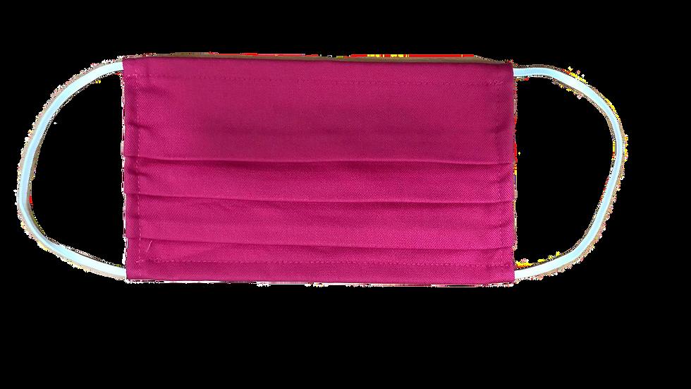 Masque en tissus lavable(pack de 3)5 COULEURS